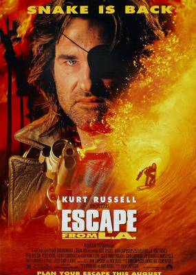 Escape From LA Movie Poster