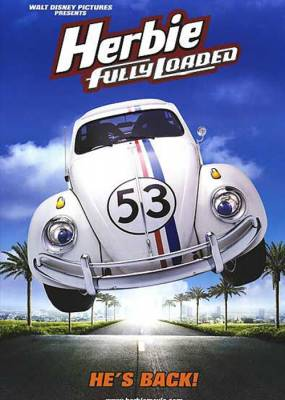 Herbie Fully Loaded Movie Poster