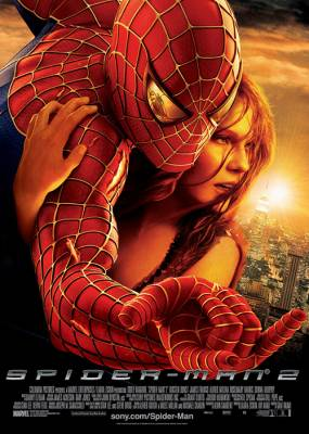 Spiderman 2 Movie Poster