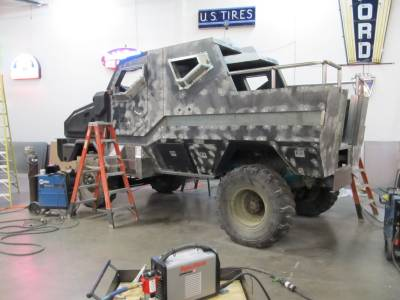Mocking Jay Custom Truck in Construction