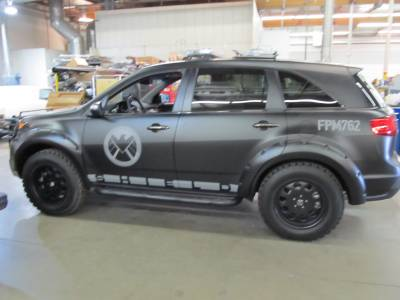 SHIELD Custom SUV