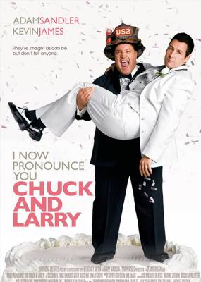 Chuck and Larry Movie Poster