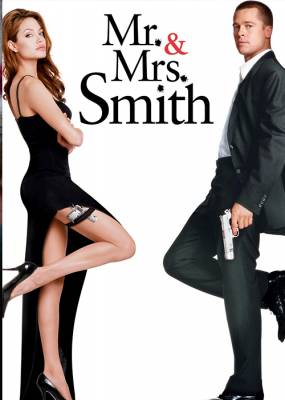 Mr & Mrs Smith Movie Poster
