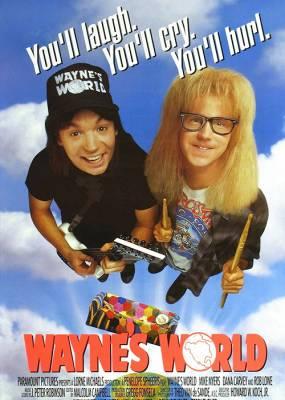 Waynes World Movie Poster