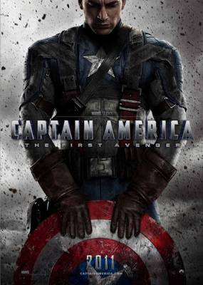 Captian America Movie Poster