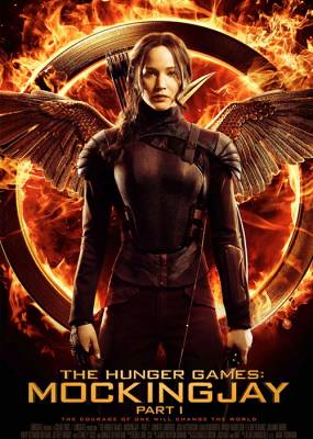 Hunger Games Mockingjay pt1 Movie Poster