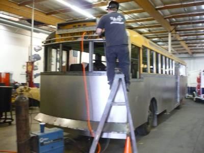 Custom Modified School Bus
