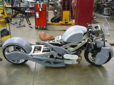 Priest Movie Bike In Construction