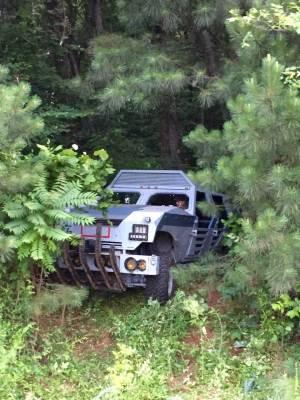Allegiant Custom Vehicle in Woods