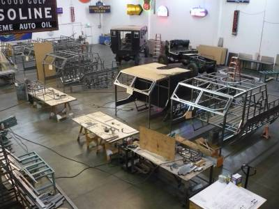 Custom Movie Vehicles in Construction
