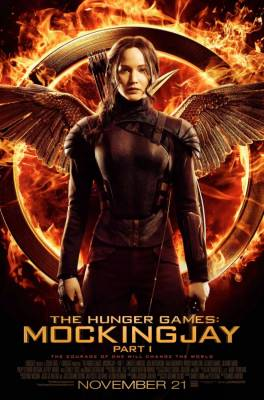 Hunger Games Mockingjay pt1 Movie Poster