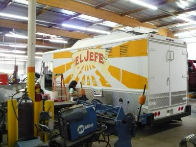 Creating the El Jefe Food Truck from Chef Movie