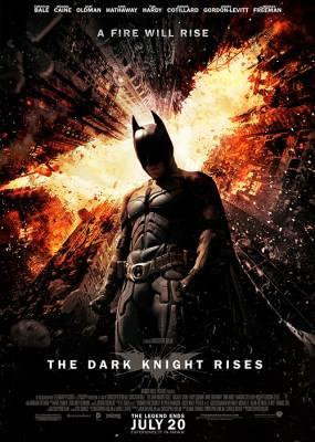Batman The Dark Knight Rises Cover