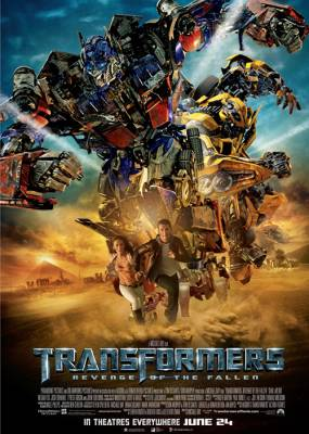 Transformers 2 Cover