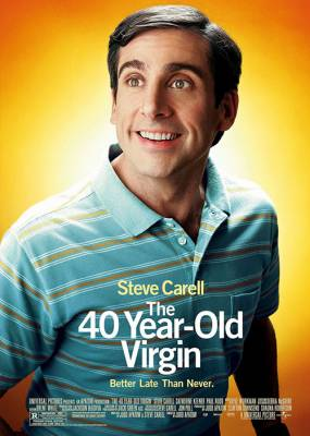 The 40 Year Old Virgin Cover