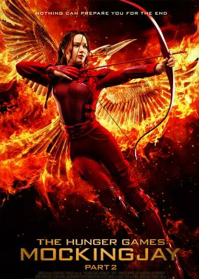The Hunger Games Mocking Jay 2 Cover