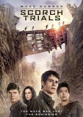 Maze Runner The Scorch Trials Cover