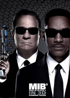 Men In Black 3 Cover