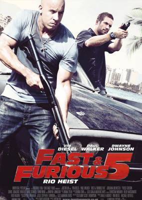 Fast & Furious 5 Cover